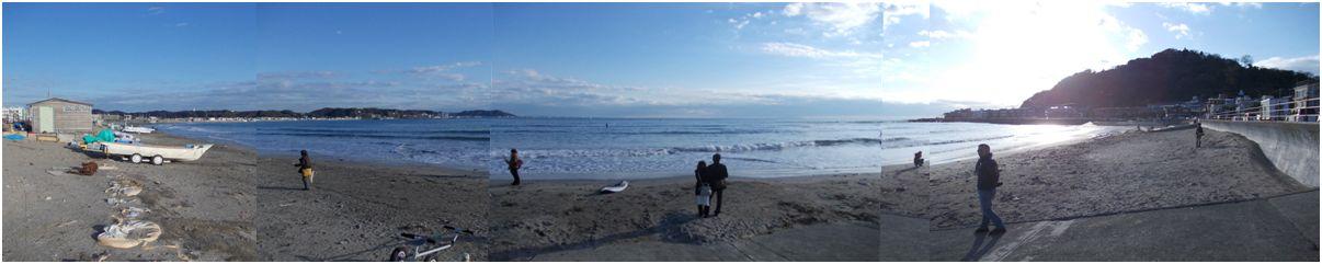 20141207_長谷_坂ノ下の海岸