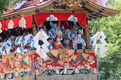 110717祇園祭山鉾巡行①
