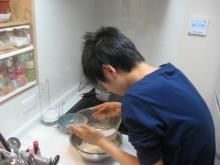 111011ケーキ作り①