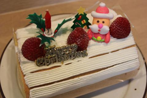 111224クリスマスケーキ