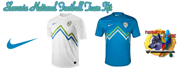 スロベニア代表12/13 Slovenia National Football Team Kit