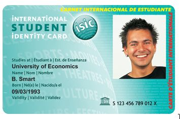 isic card student