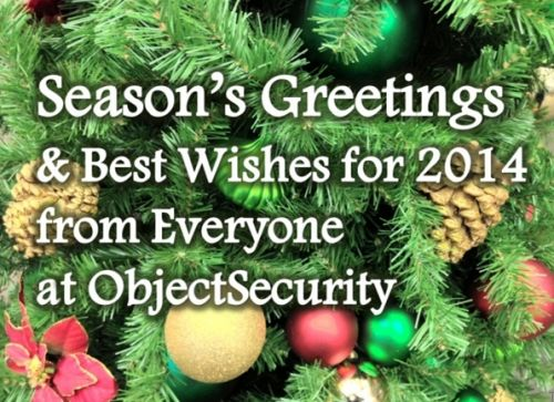 object security christmas card 2014