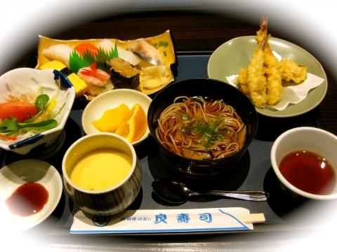 良寿司ランチ1128