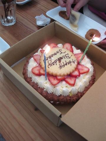 誕生日ケーキ1217