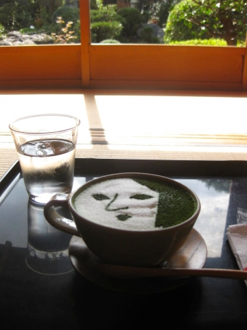 抹茶カプチーノ1017