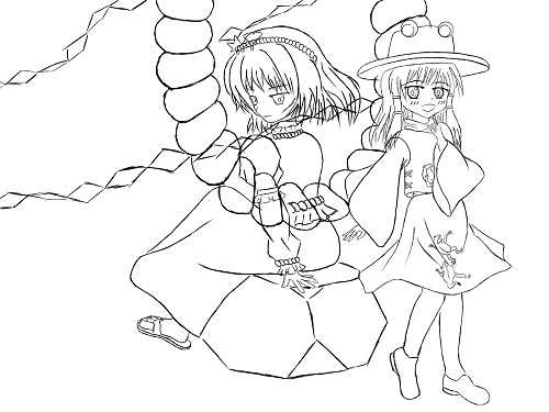 諏訪子&神奈子
