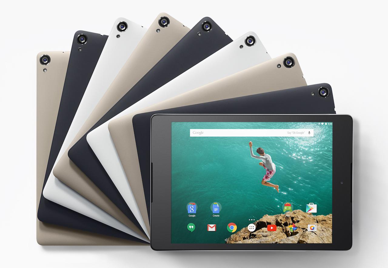 Nexus 9の価格は3万9900円から、出荷時期はGoogle Playストアが1番早い