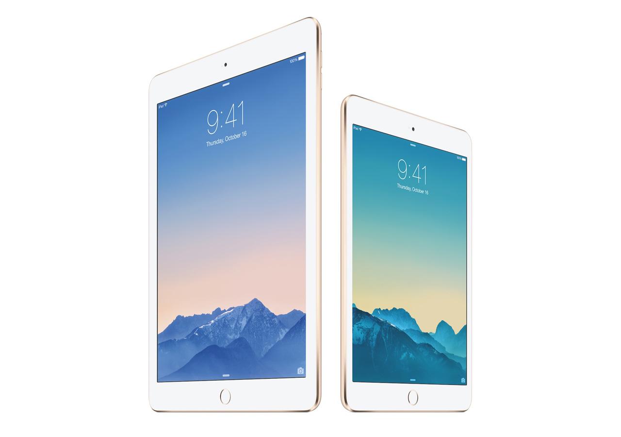 iPad Air2とiPad mini 3の予約開始日時まとめ