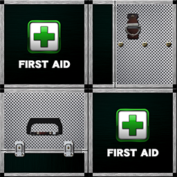 仙鶴的アルミ製救急箱