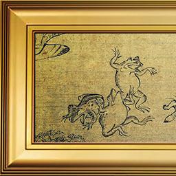 鳥獣人物戯画(LEFT)