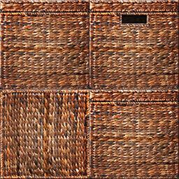 仙鶴的竹籠箱