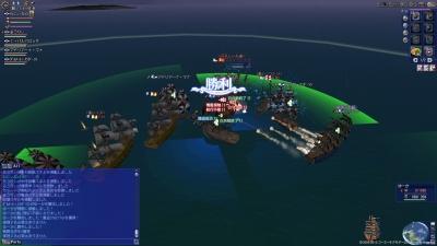 カリブで艦隊戦