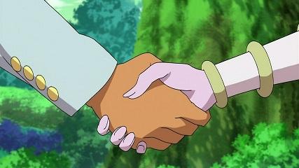 監督の握手
