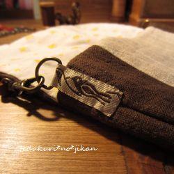 ワンポイント刺繍のミニBag 完成3