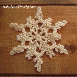 雪の結晶モチーフ2