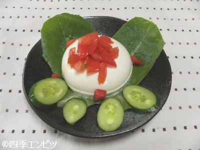 201007 豆腐のサラダ