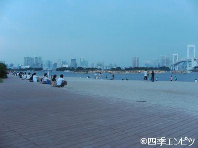 201007 お台場 海浜公園 f