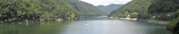 旭川ダム湖 フォトレポート