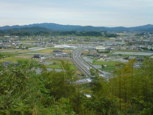 鏡野町を見渡す眺め