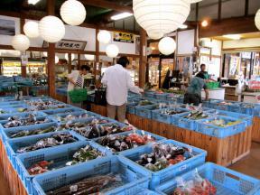 店舗内 農産物売り場
