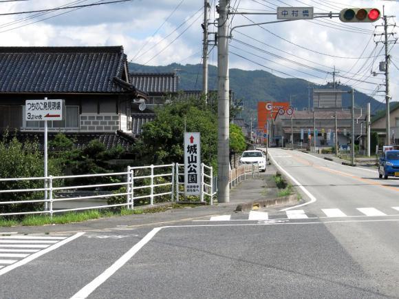 国道374号線 「中村橋」の信号機