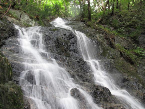 「三の滝」 上段