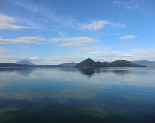 洞爺湖湖畔