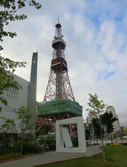 札幌TV塔①