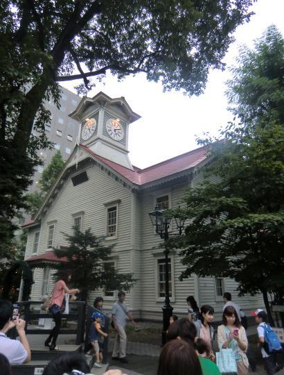 札幌時計台②