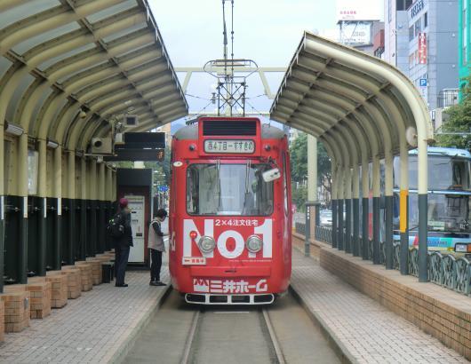 すすきの路面電車