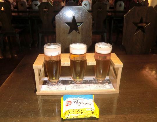 ビール園試飲1