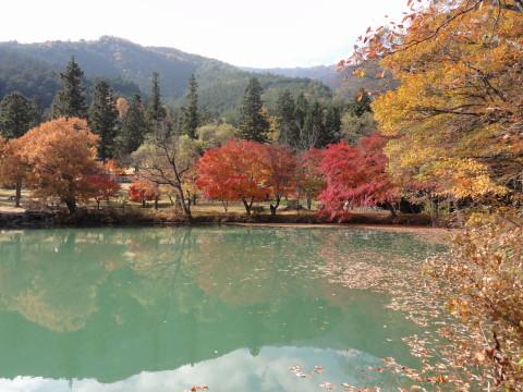 北伊奈ヶ湖 湖面