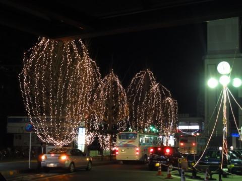 韮崎駅 イルミ2