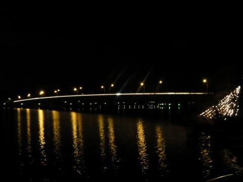 イルミ河口湖畔 大橋