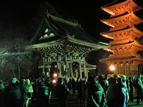 除夜の鐘 久遠寺 外観