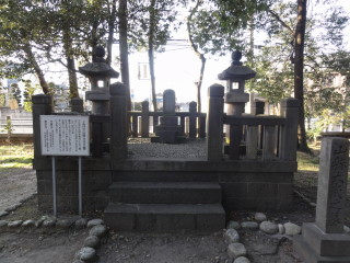 合格祈願 山縣神社 山県大弐の墓