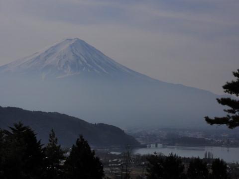 母の白滝 富士山