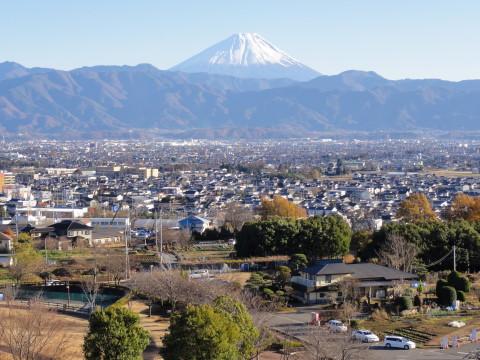 富嶽百景 赤坂台地