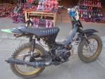 手作りバイク!