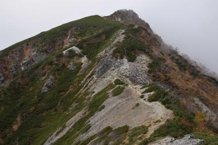 63檜尾岳へ