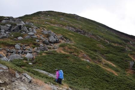 64檜尾岳へ