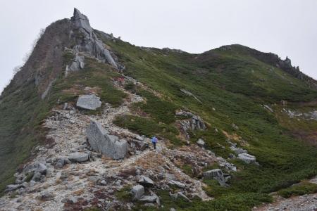 68熊沢岳へ
