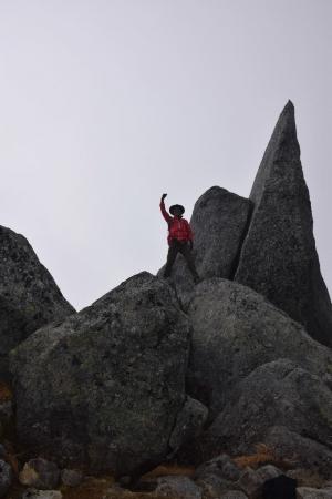 71熊沢岳へ