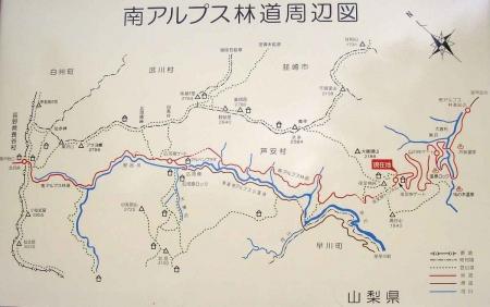 鳳凰三山マップ2