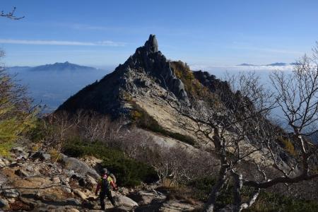 64地蔵岳へ