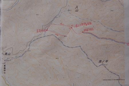 八溝山マップ1