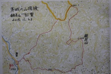鍋足山マップ