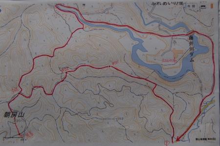 朝房山マップ