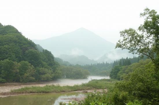 木地山ダム上流